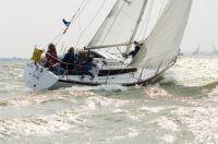 Gambiet - NED 4372, Gert Vink, Ligplaats: Almere-Haven, Bouwjaar: 1977, Bouwer: Lewin, Indeling: vd Stadt, Bijzonderheden: Heeft een complete refit gehad in 2001/2002